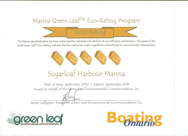 Green Leaf Certificate