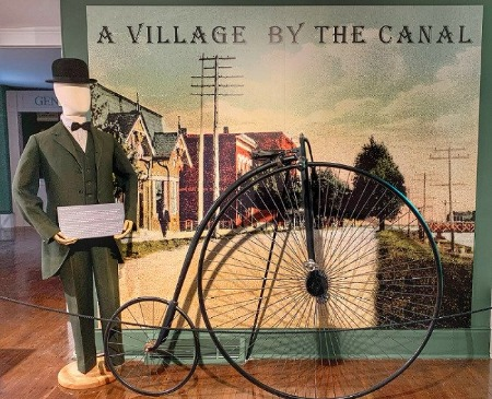Village by the Canal exhibit